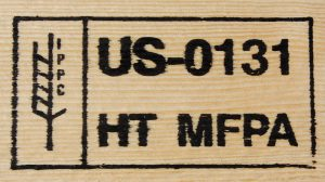 Heat Treated Lumber For Export Stamp