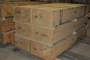 Heat Treated Oak Dunnage Lumber