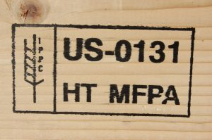Boone Valley Forest Products Heat Treated Lumber For Export Stamp