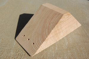 Wooden Chock from Boone Valley Forest Products
