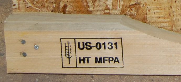 Boone Valley's heat treated lumber for export stamp
