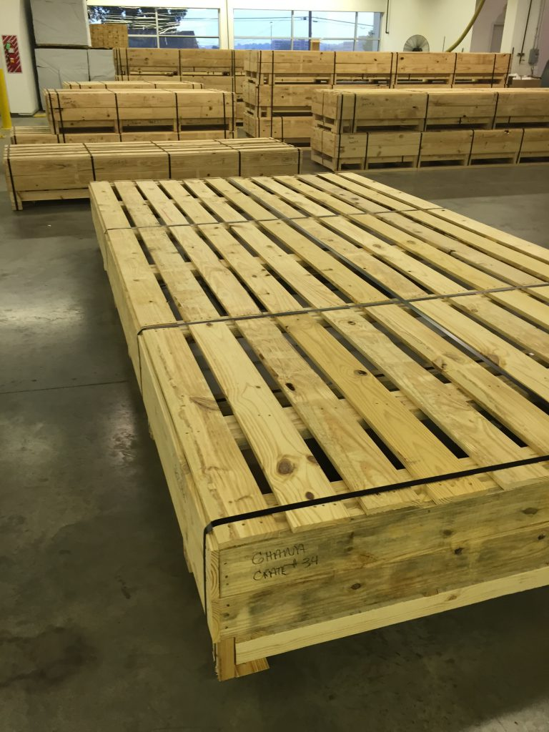 Heat Treated Lumber Export Crate Boone Valley Forest Products